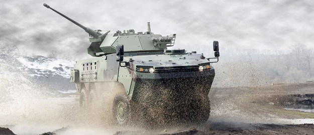 Otokar Arma 8X8 Wheeled Armoured Vehicle