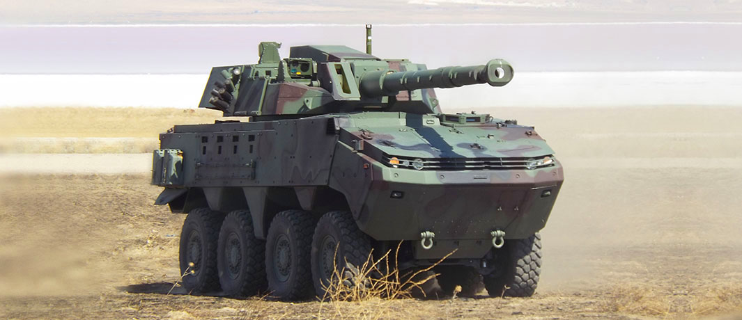 Otokar Arma Wheeled Armoured Vehicle