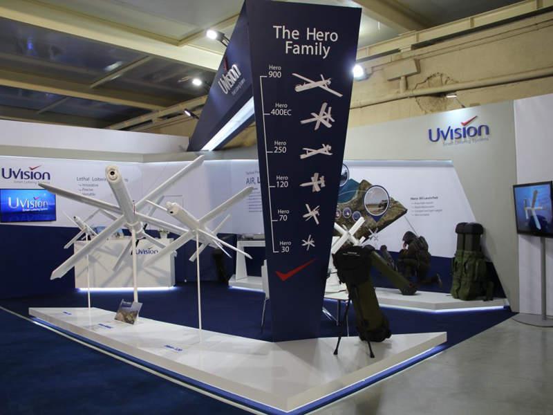 UVision Hero-400EC Loitering System