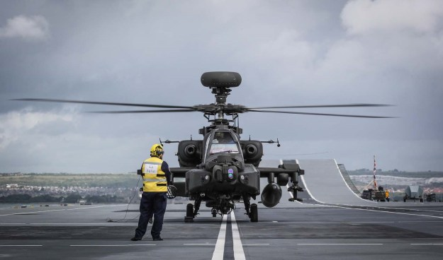 British Army Apache AH Mk 1 Attack Helicopter