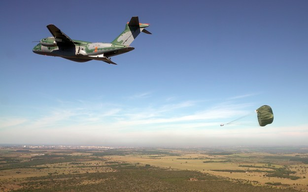 Embraer KC-390 military transport aircraft