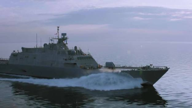 Littoral Combat Ship 21 Christened and Launched