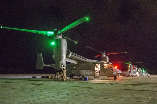 Marine Aircraft Group (MAG) 24 MV-22B Osprey Medium Tiltrotor