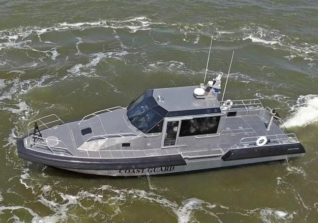 Metal Shark Building 45 Defiant Patrol Boats