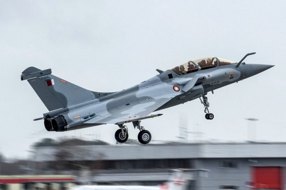 Qatar receives its first five Dassault Rafale fighters