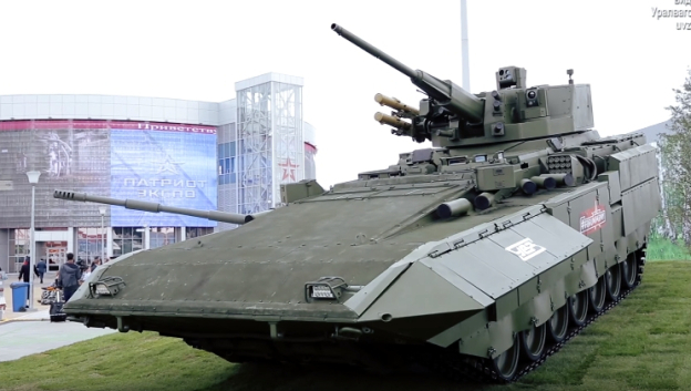 Russia considers switching armoured fleet with 57 mm cannons