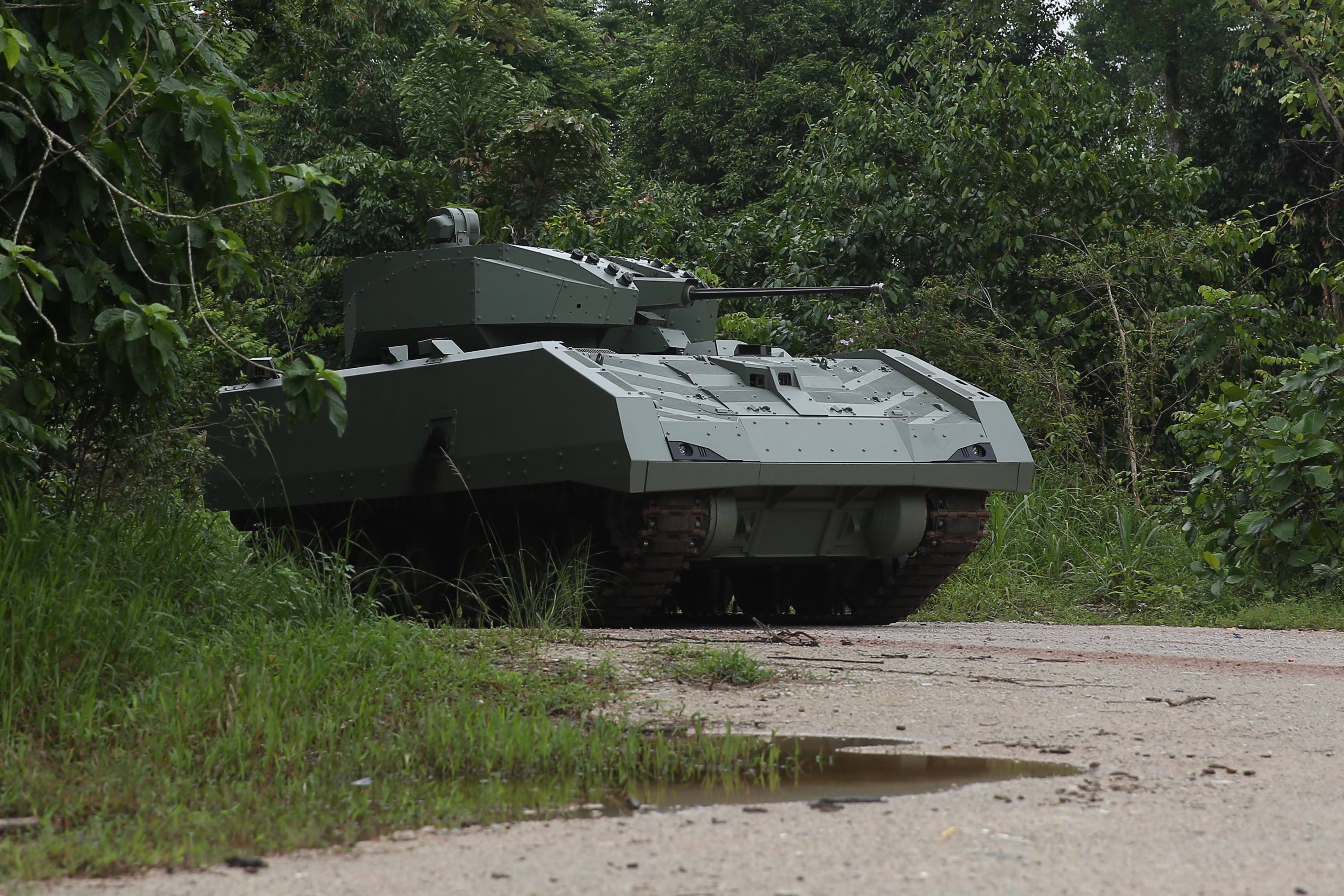 Singapore Armed Forces Hunter Armoured Fighting Vehicle (AFV)