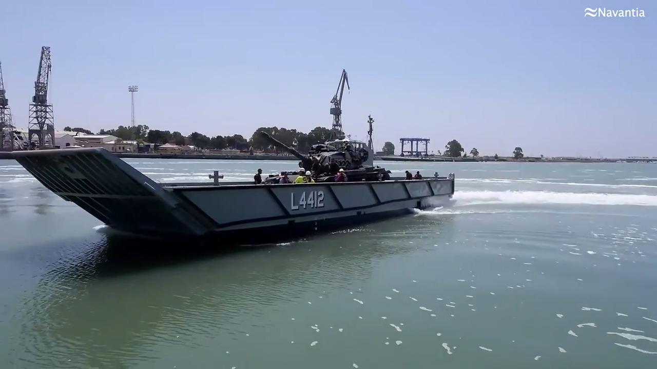 LCM-1E Amphibious Mechanized Landing Craft
