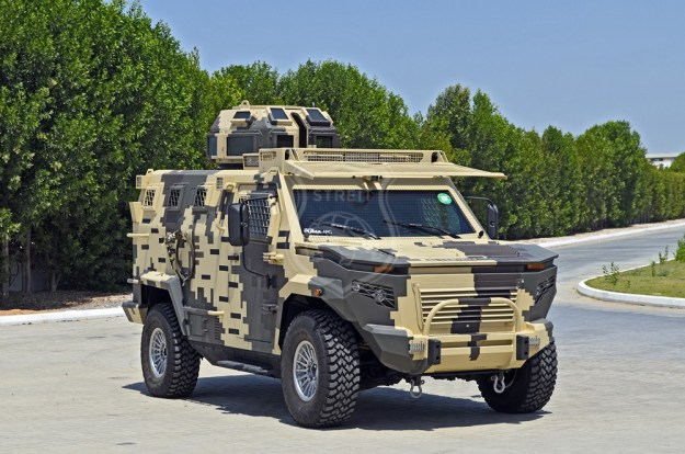 Streit Group Puma 4x4 Armoured Personnel Carrier
