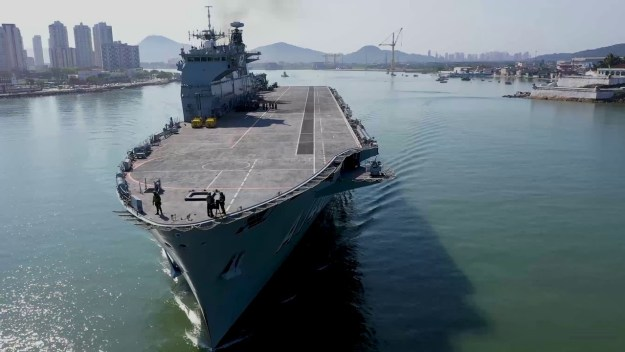 Brazilian former Aircraft Carrier Goes on a Sale
