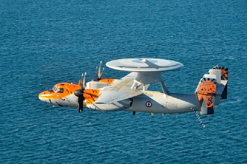 French Navy E-2C Hawkeye