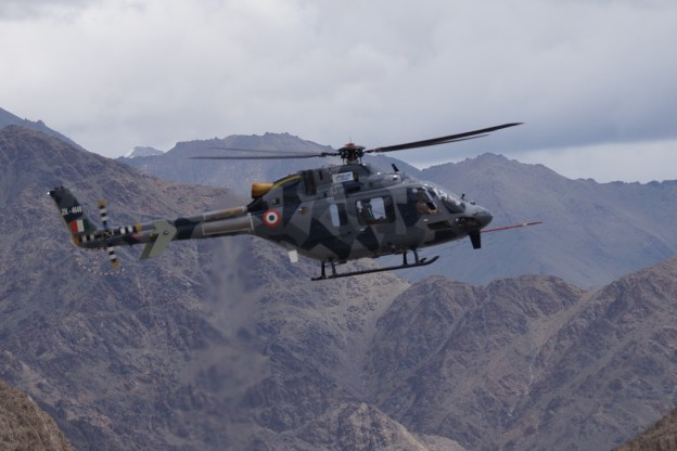 HAL Light Utility Helicopter (LUH) Clears High Weather Tests at Himalayas