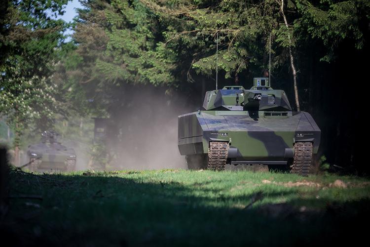 Raytheon Rheinmetall Land Systems Lynx KF41 Infantry Fighting Vehicle