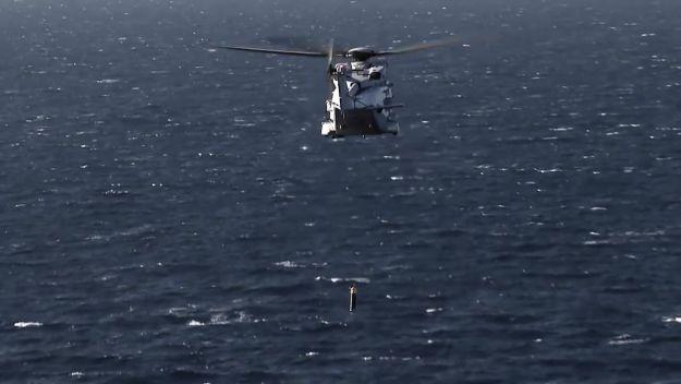 Sweden NH90 Anti-Submarine Warfare training