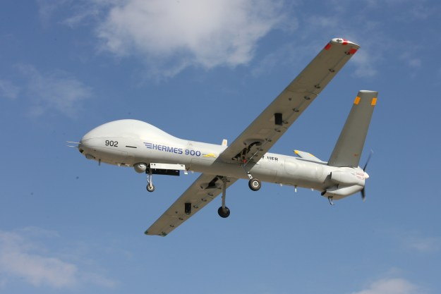 Hermes 900 next-generation multi-role MALE UAS
