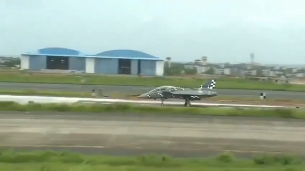 LCA Tejas Naval Fighter Completes Full Mission Sortie