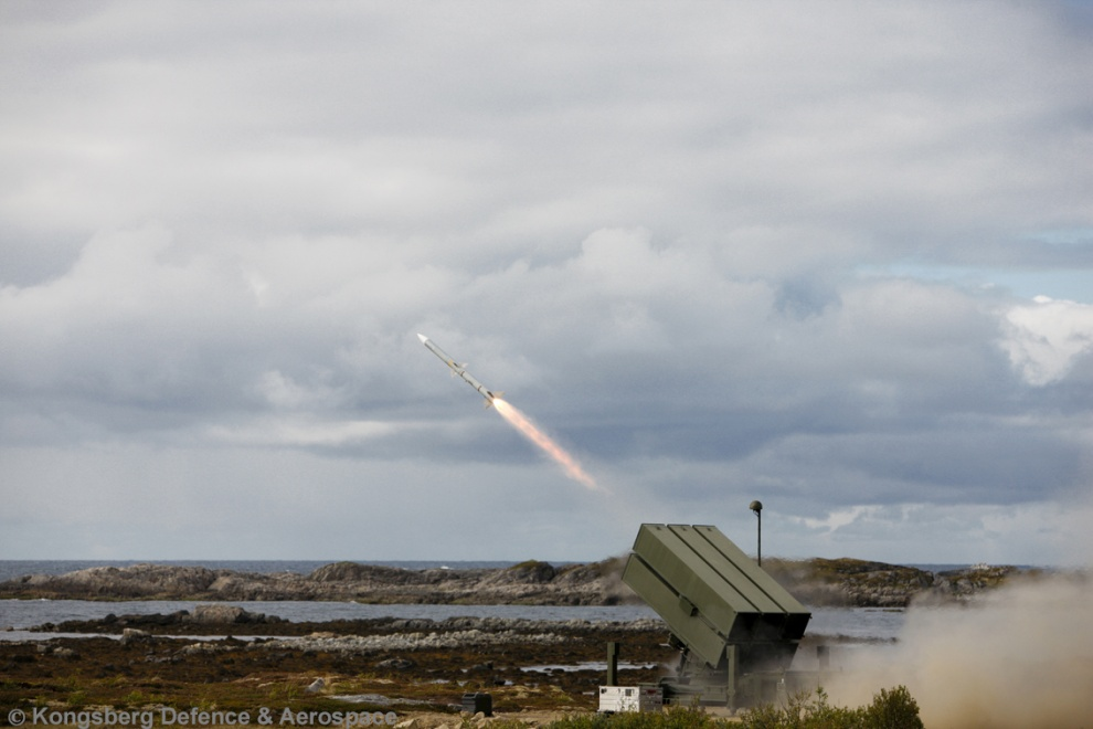 NASAMS medium-range air defence system