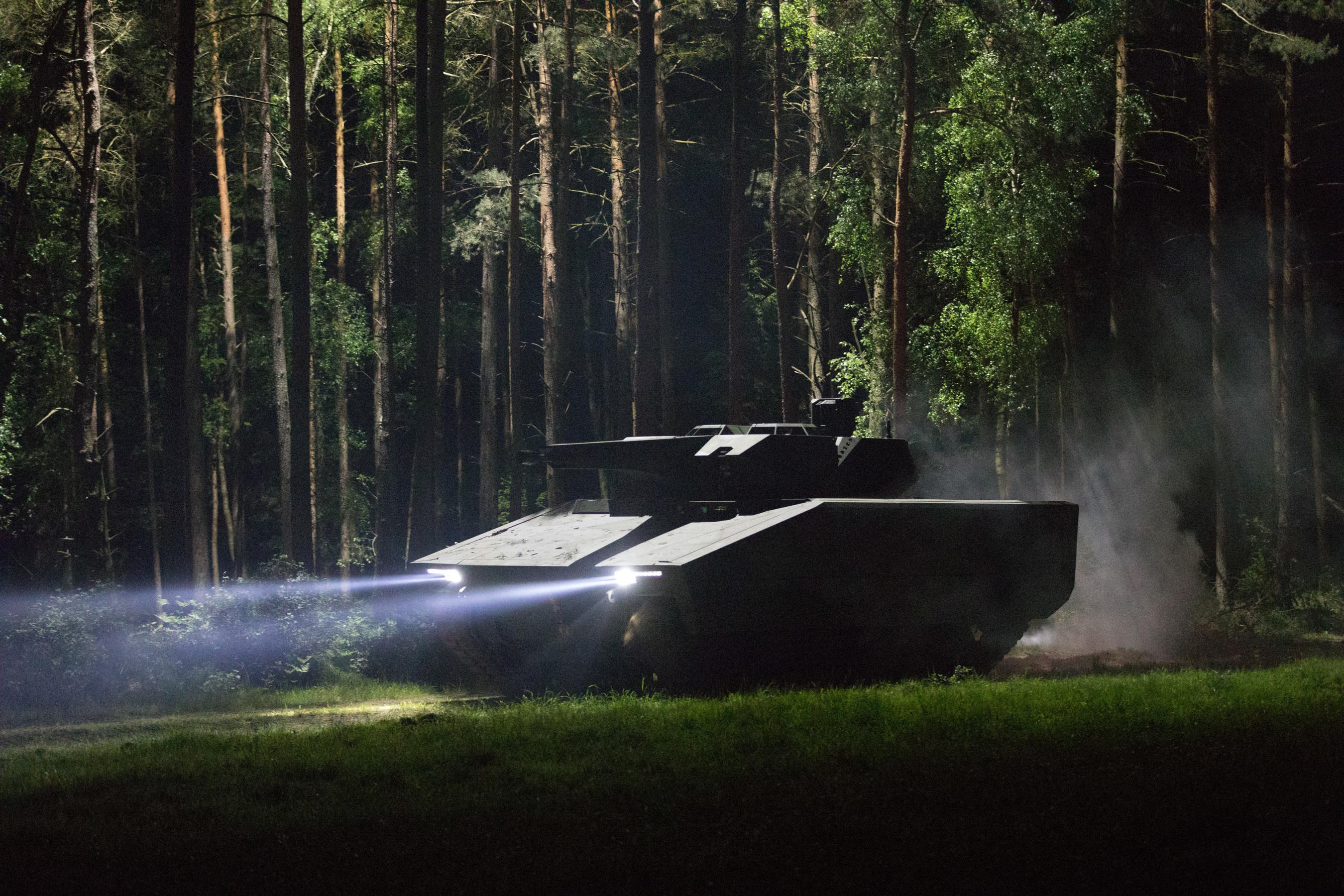 Raytheon Rheinmetall Land Systems Lynx KF41