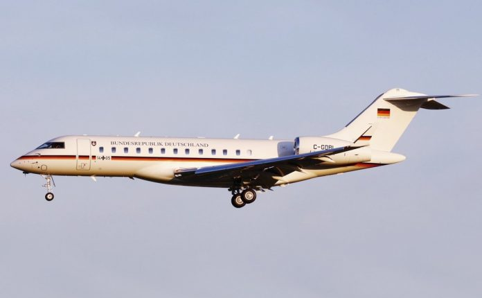 Rolls-Royce powers German Special Mission Wing Global 6000