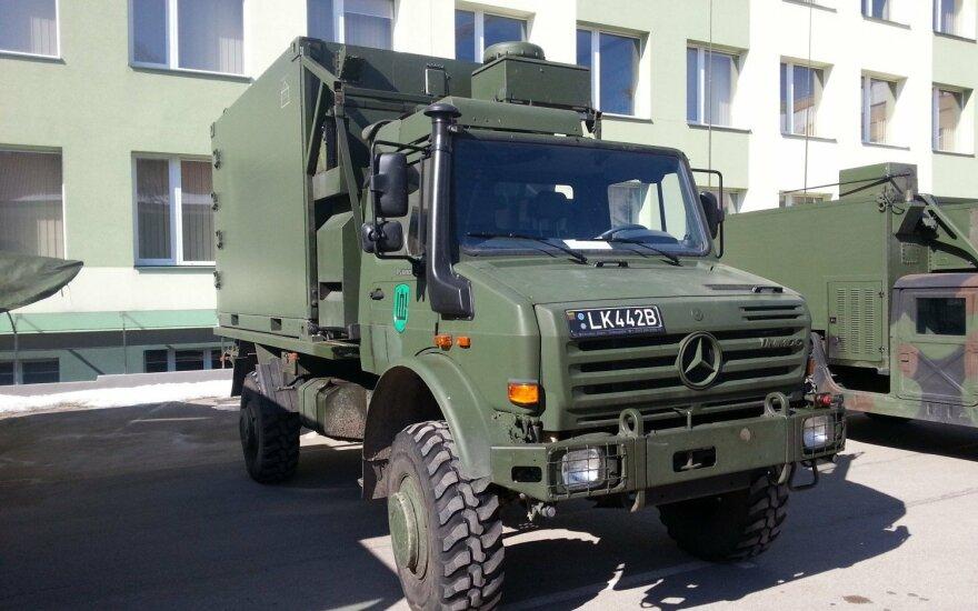 Unimog U5000 trucks