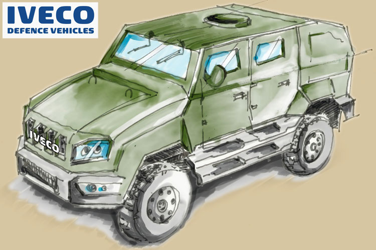 Iveco Defence 12KN Medium Multirole Protected Vehicles (MMPV)