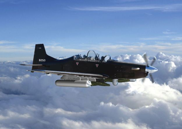 UAE Order 24 Calidus B 250 Light Attack Turboprop