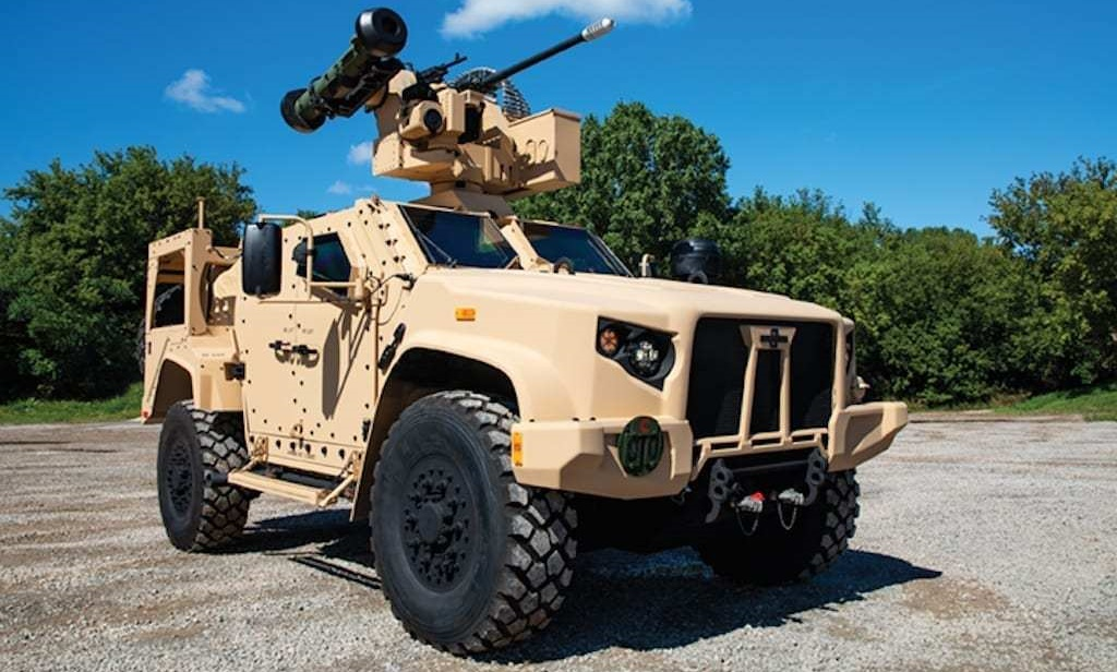 Lithuania Buys 200 JLTV Light Tactical Vehicles
