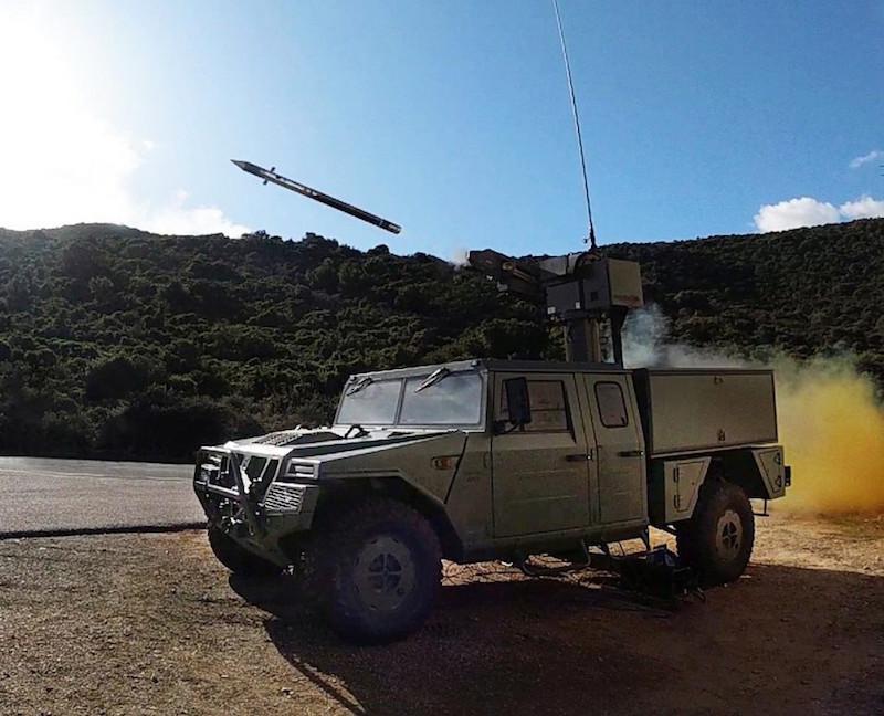 MBDA's Mistral 3 Missile Scores A Double Success