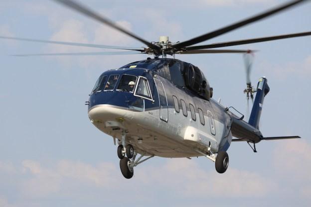 Mi-38 multirole helicopter