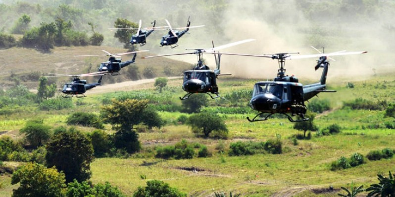 Indonesian Army NBell 412