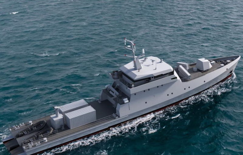 Senegal Signs with Piriou A Contract to Purchase Three OPVs