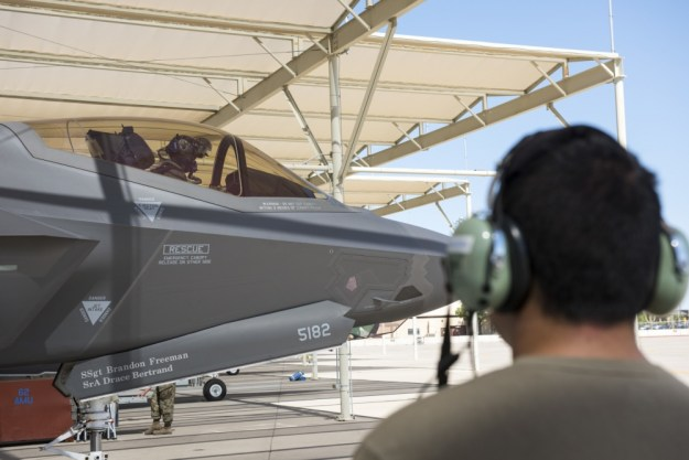 The 62nd FS activated in January 2015 at Luke Air Force Base as a joint international effort between Italy, Norway and the United States for F-35 training.