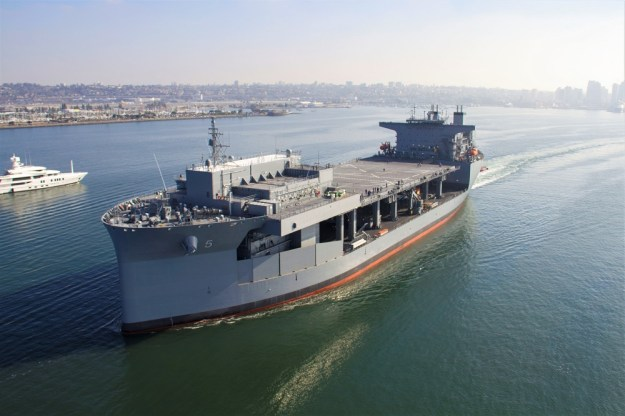 Navy Accepts Delivery of USNS Miguel Keith (ESB 5)