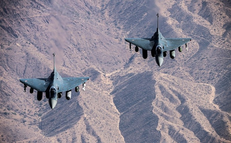 India's indigenous supersonic Light Combat Aircraft (LCA) Tejas- world's lightest supersonic fighter which has already joined IAF