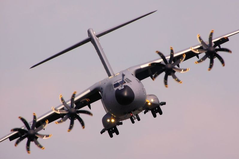 Airbus Defence and Space A400M Atlas Military Transport Aircraft