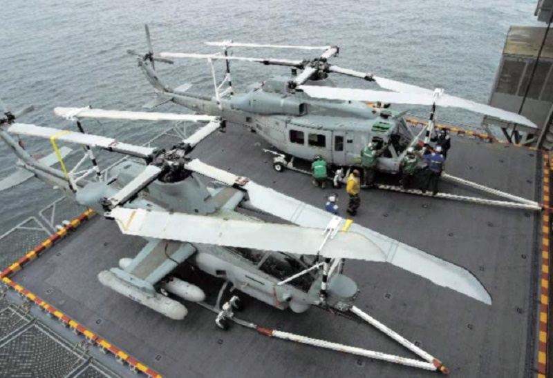 The H-1 upgrade program is the United States Marine Corps's program to develop the AH-1Z Viper and UH-1Y Venom military helicopters to replace its aging fleets of AH-1W SuperCobras and UH-1N Twin Hueys.