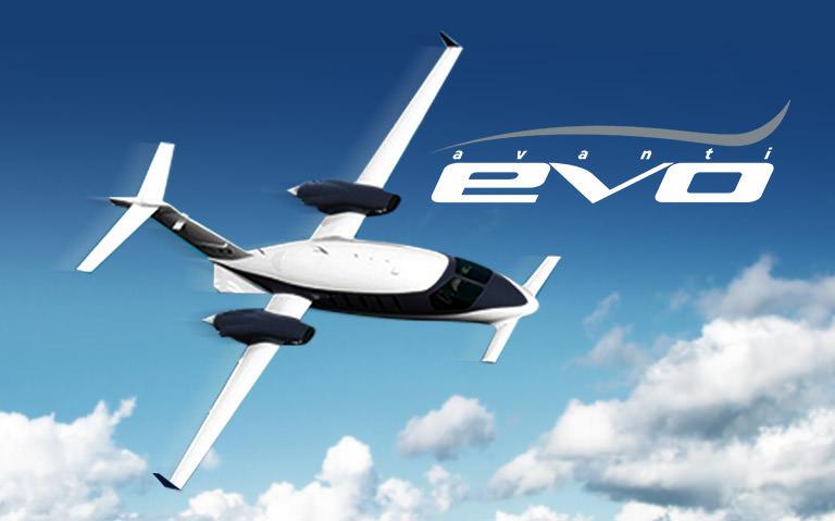 Piaggio Aerospace Avanti EVO Airplane
