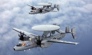Northrop Grumman E-2D Hawkeye Airborne early warning and control