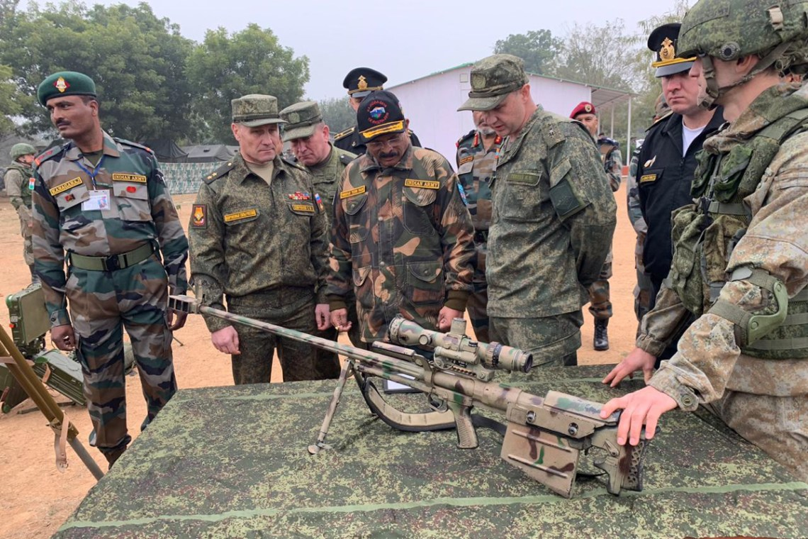The final Stage of the Indra 2019 Joint Russian-Indian Exercise