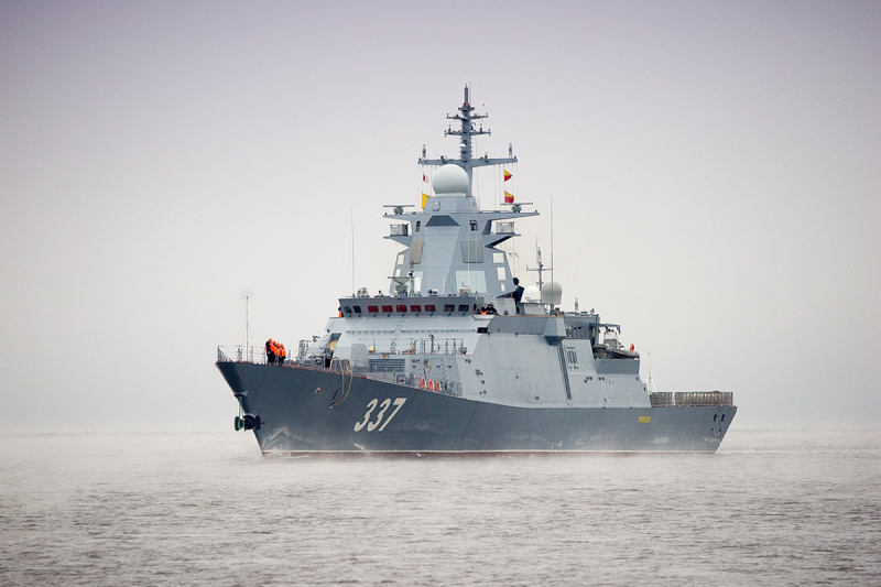 Russian Navy Gremyashchiy Missile Corvette (Project 20385)