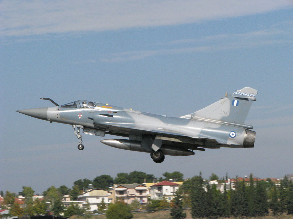 Hellenic Air Force Mirage 2000-5 Multirole fighter