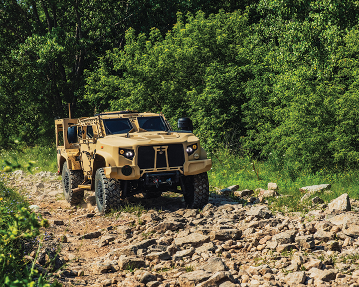 Oshkosh Awarded $803.9 Million JLTV Order for Army, Marine Corps, Air Force and Navy