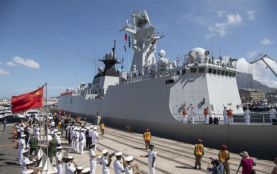 China-Russia-South Africa Conduct Joint Naval Military Exercise Code-named Mosi