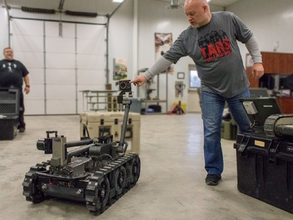 Ft. Leonard Wood Robotics University Develops New Robot to be Used by all Services