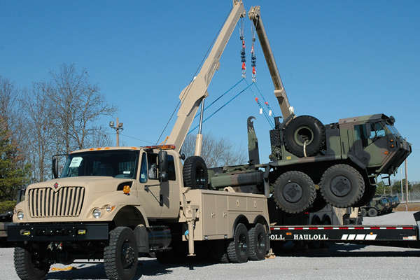 Navistar Defense International 7000-MV Recovery Vehicle
