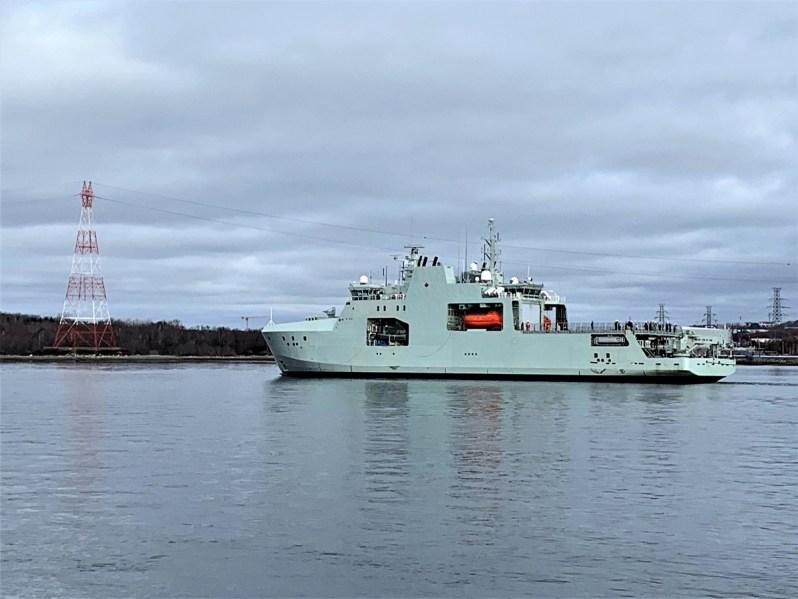 Canada's Lead Arctic and Offshore Patrol Ship Builder's Sea Trials Underway