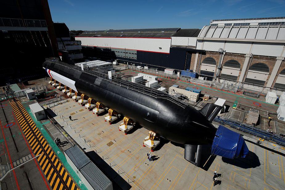 Naval Group Suffren Barracuda-class nuclear attack submarine