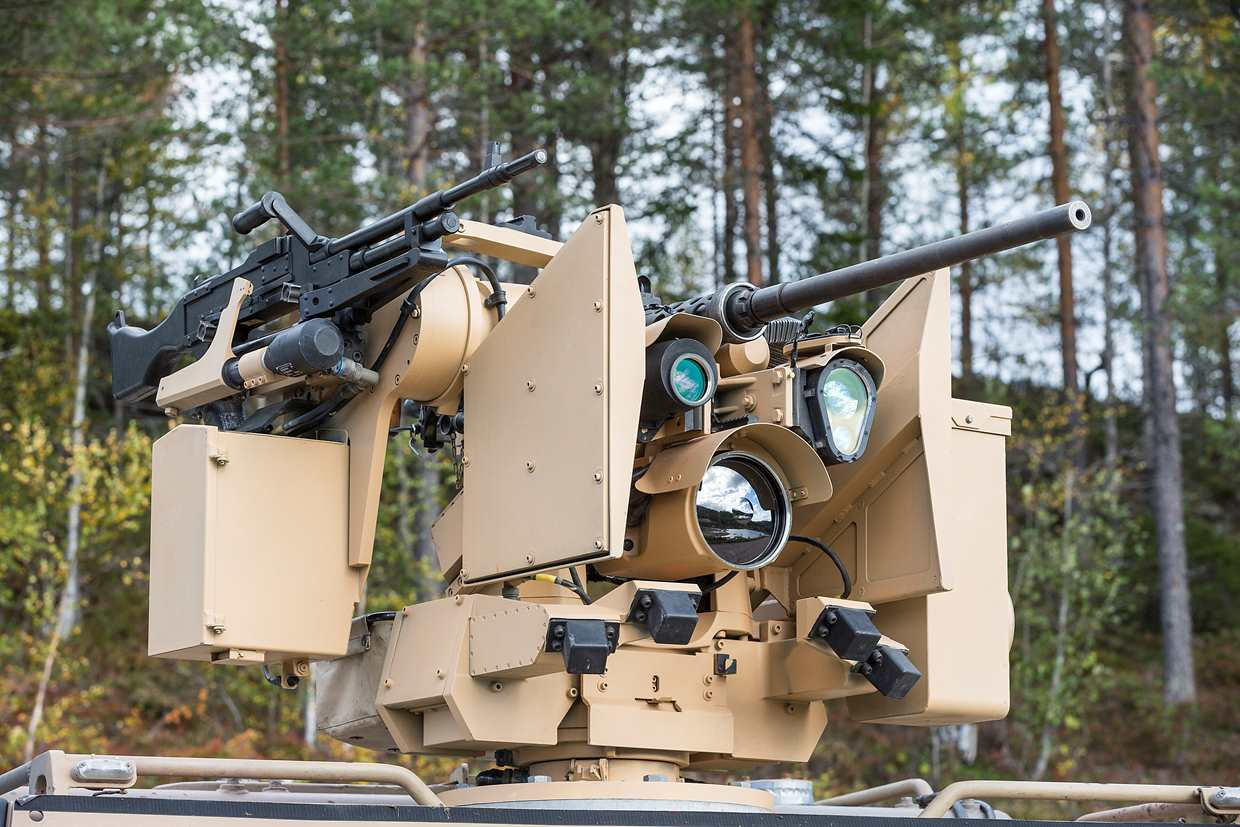 Contract to Deliver Remote Weapons Stations to Switzerland Valued 230-MNOK