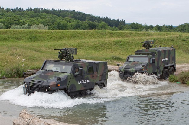 General Dynamics European Land Systems-Mowag  EAGLE Reconnaissance Vehicles