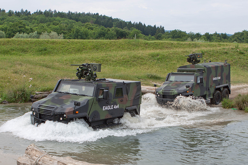 General Dynamics European Land Systems-Mowag  EAGLE Reconnaissance Vehicles